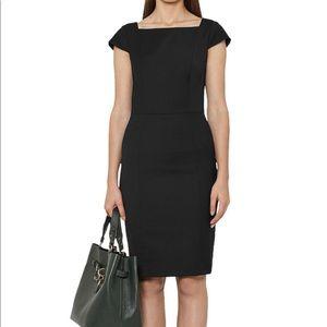 Black Tailored Reiss Dress